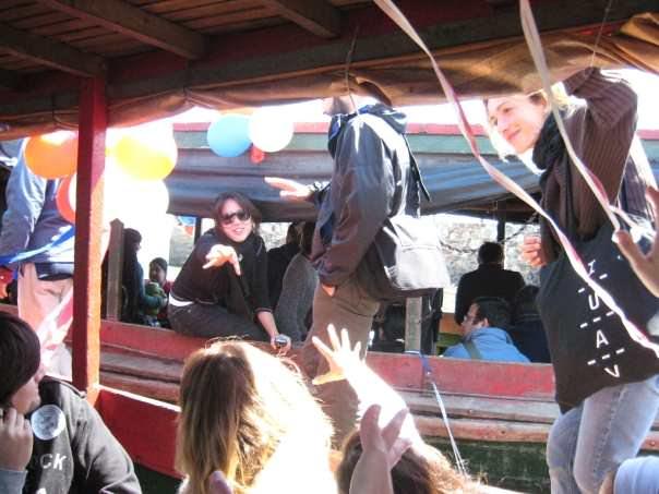 2008.asunción. visita aree in barca