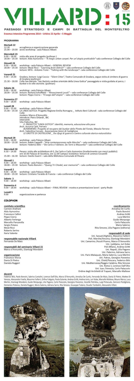 villard-15-urbino-programma