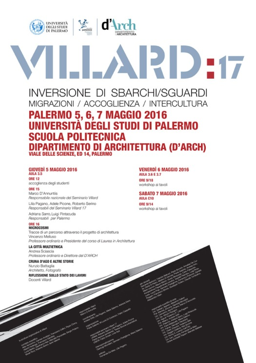 Villard 17 Palermo programma