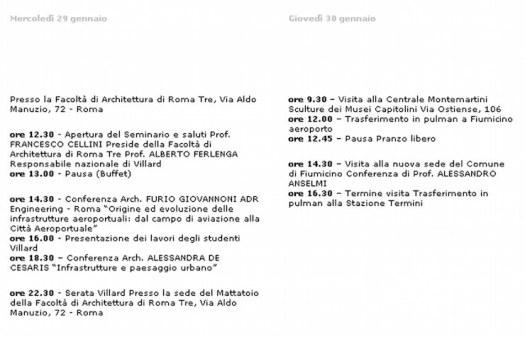 villard-4-roma-programma