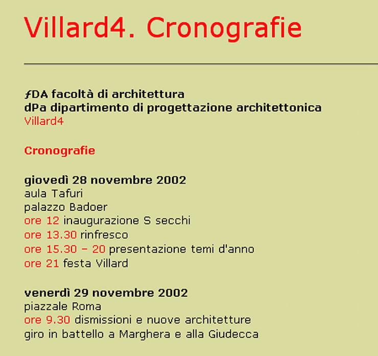 villard-4-venezia-programma