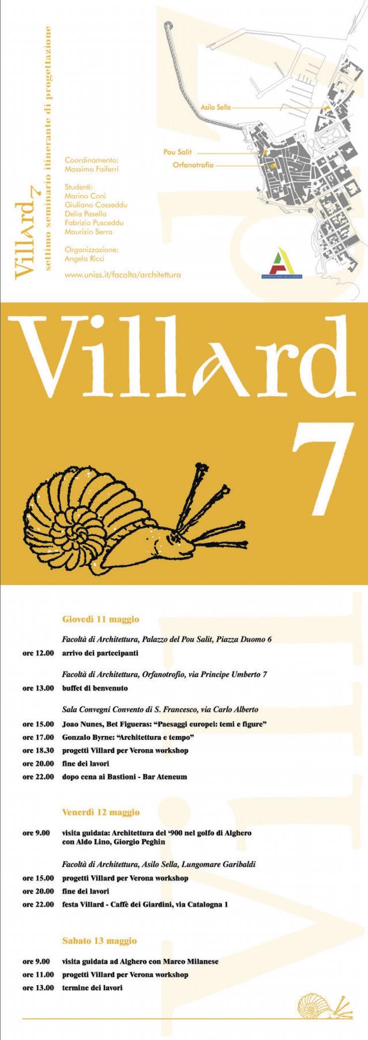 villard-7-alghero-programma