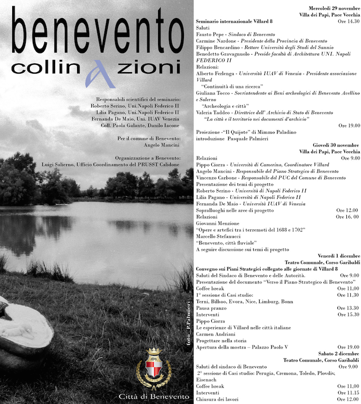 villard-8-benevento-2006-programma