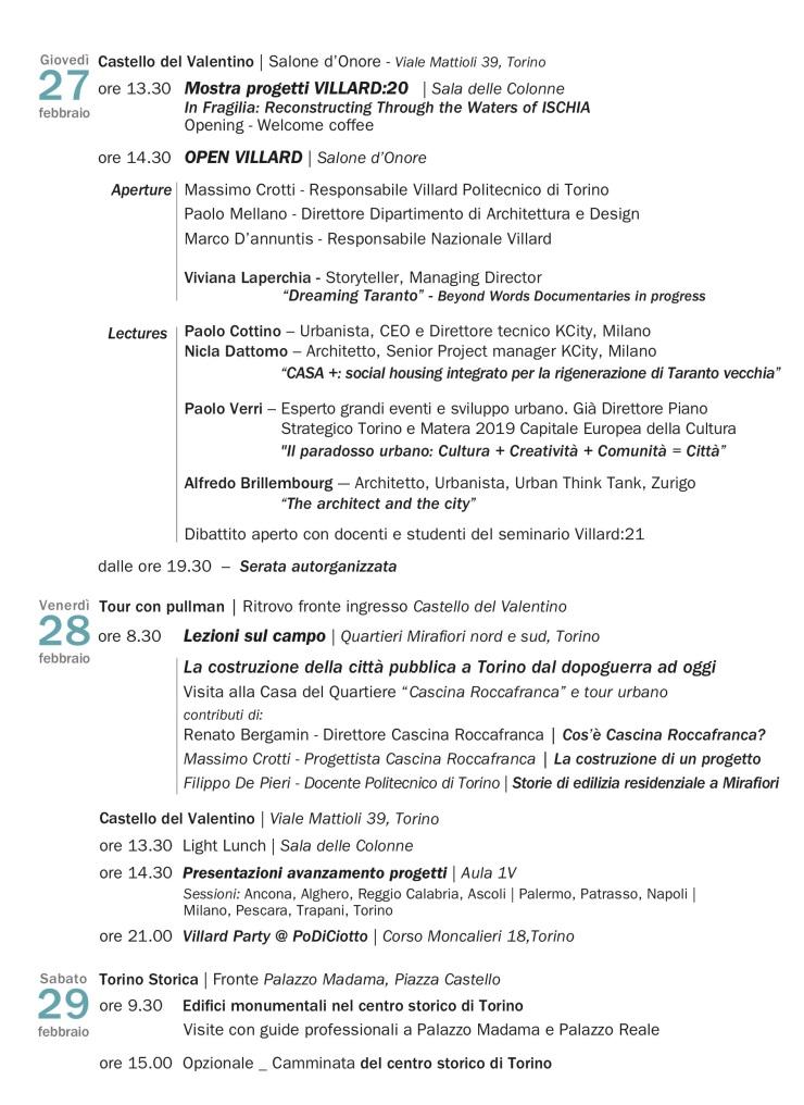 Programma_VILLARD21_ Tappa 3 _ TORINO 2